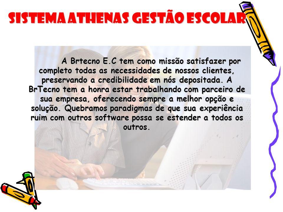 Sistema Athenas Gestão Escolar