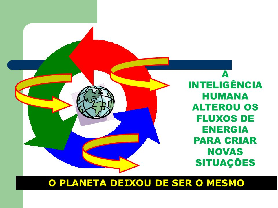 O PLANETA DEIXOU DE SER O MESMO