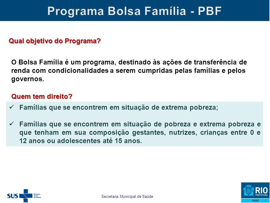 Condicionalidades Bolsa Família Acompanhamento da Gestação