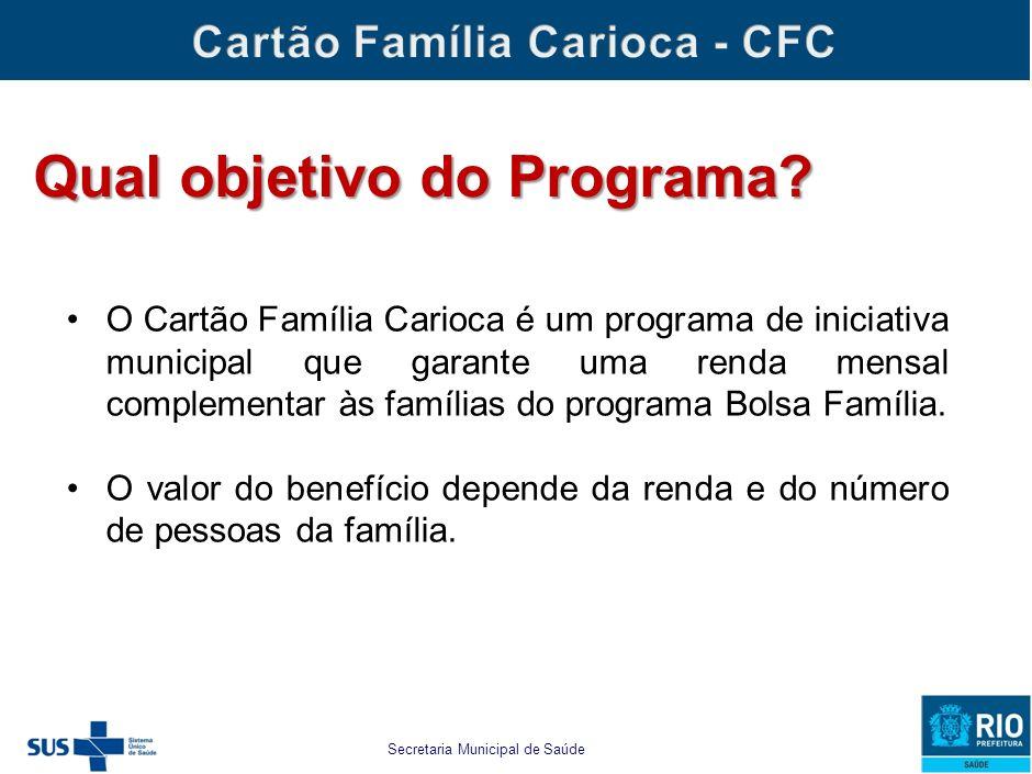 Condicionalidades CFC em 2013