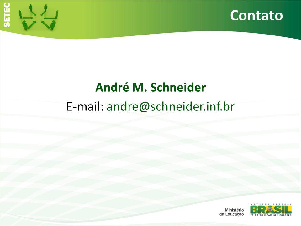 André M. Schneider E-mail: andre@schneider.inf.br