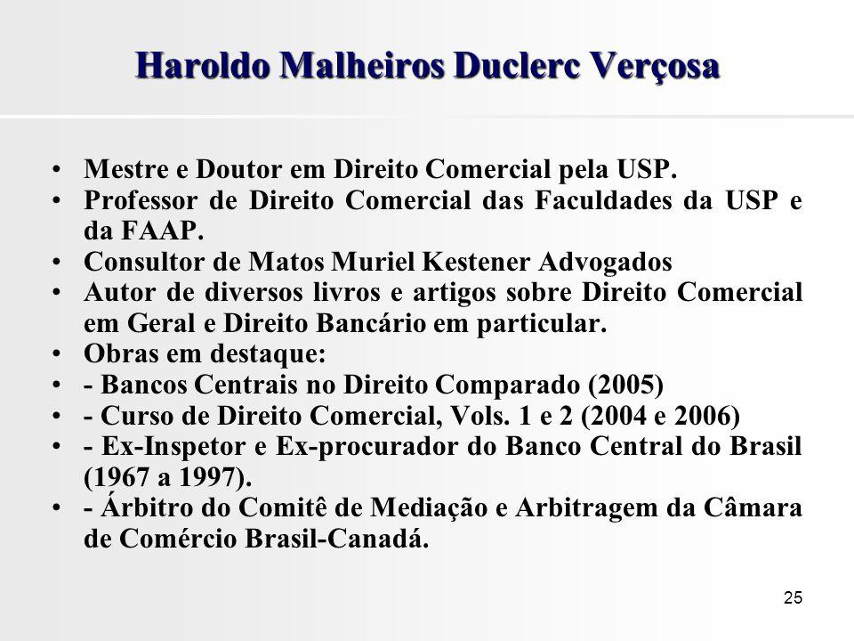 Haroldo Malheiros Duclerc Verçosa