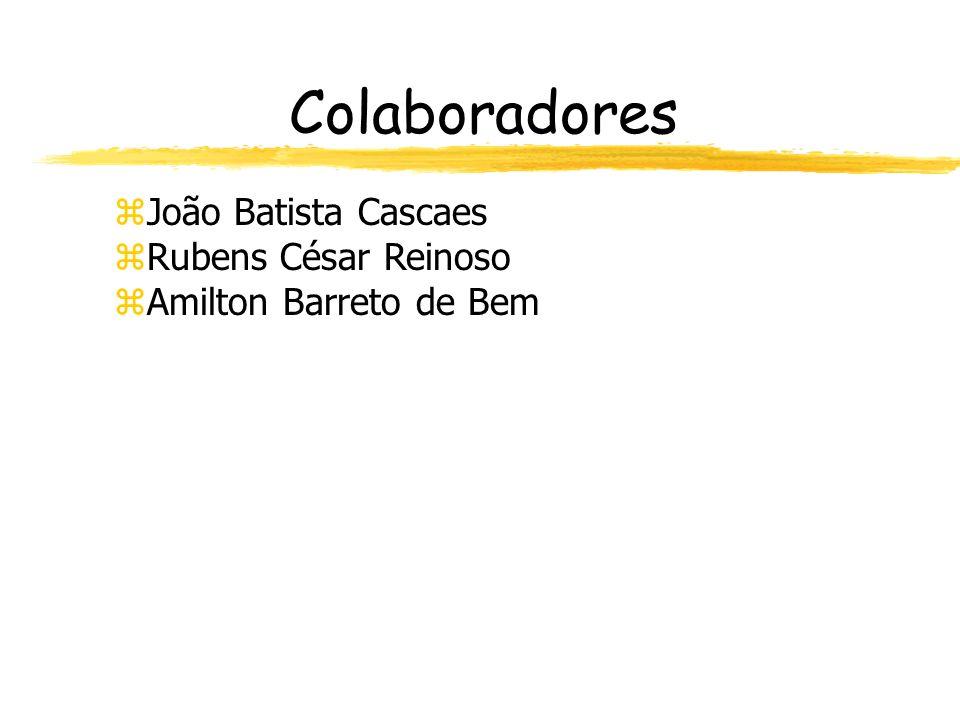 Colaboradores João Batista Cascaes Rubens César Reinoso