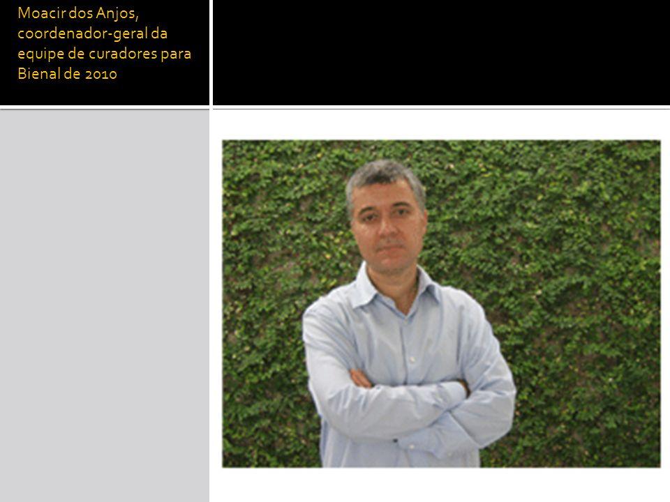 Moacir dos Anjos, coordenador-geral da equipe de curadores para Bienal de 2010