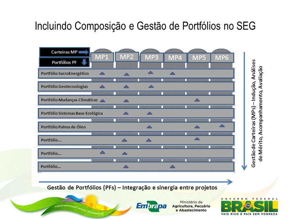 Gestão de Portfólios (PFs) – Integração e sinergia entre projetos