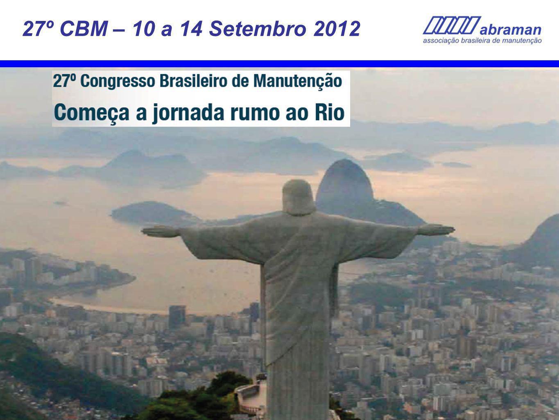 27º CBM – 10 a 14 Setembro 2012 36