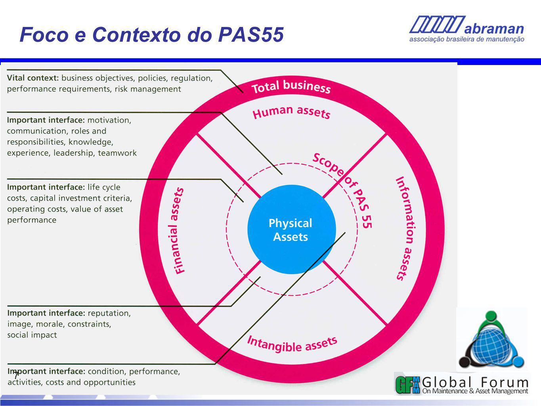 Foco e Contexto do PAS55 7