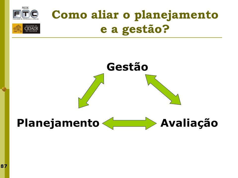 Como aliar o planejamento e a gestão