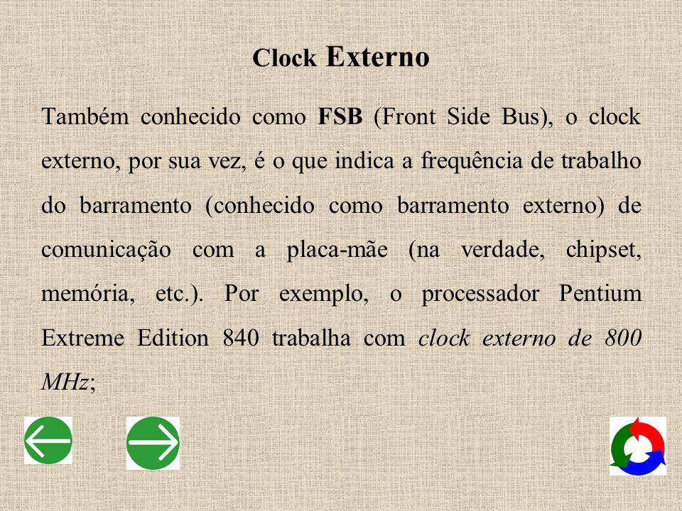 Clock Externo