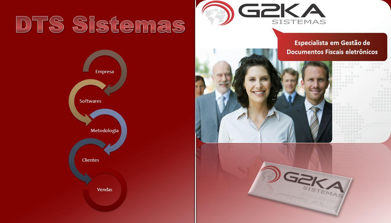 DTS Sistemas Empresa Softwares Metodologia Clientes Vendas