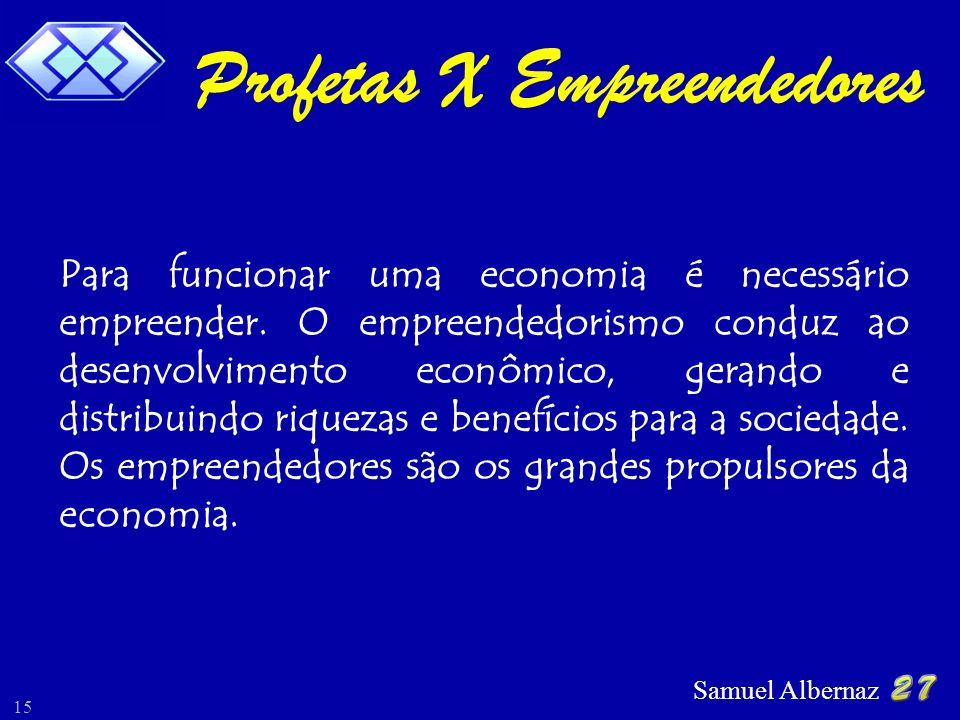 Profetas X Empreendedores