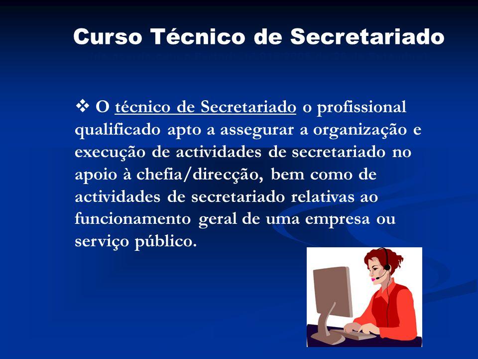 Curso Técnico de Secretariado