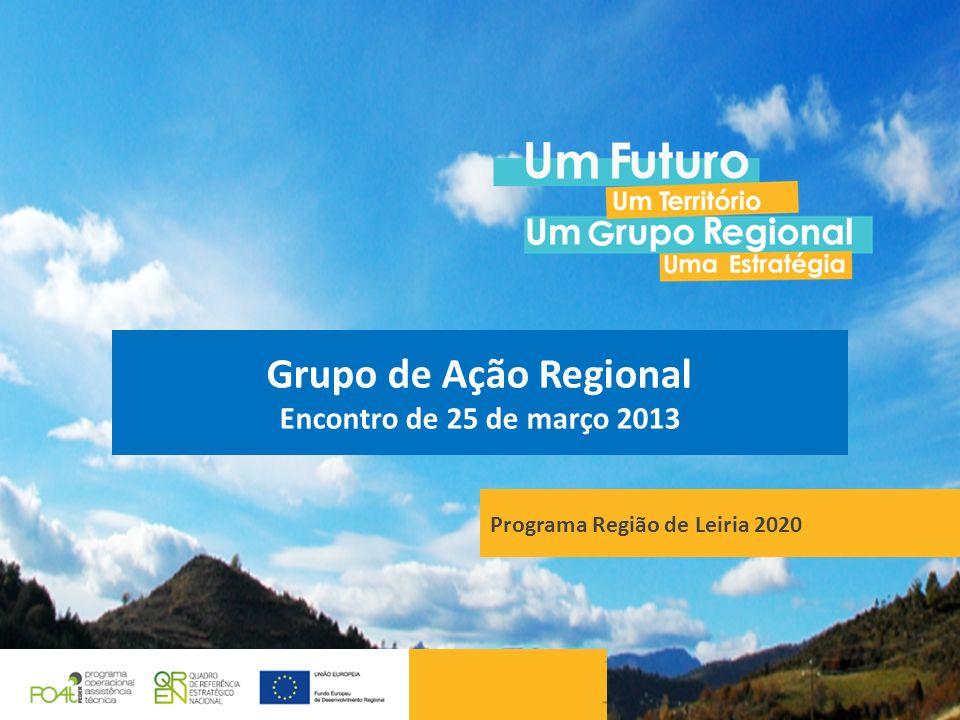 Grupo de Ação Regional Encontro de 25 de março 2013