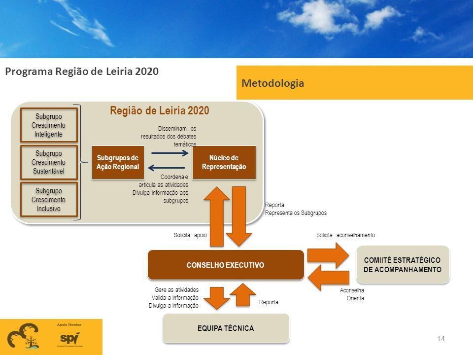 Metodologia Região de Leiria 2020
