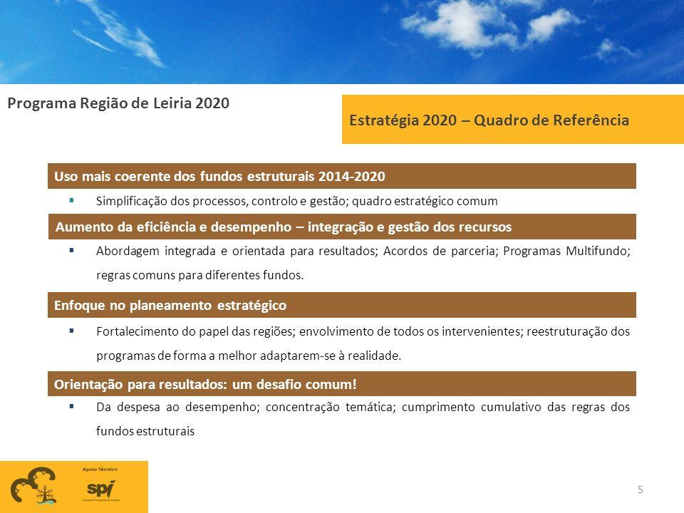 Estratégia 2020 – Quadro de Referência