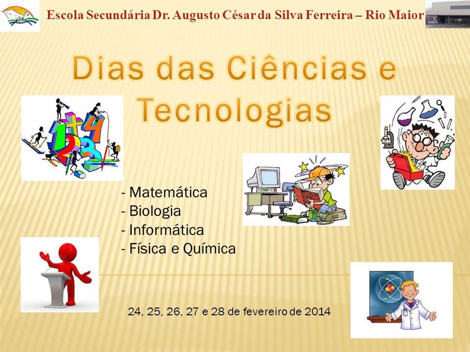 Dias das Ciências e Tecnologias