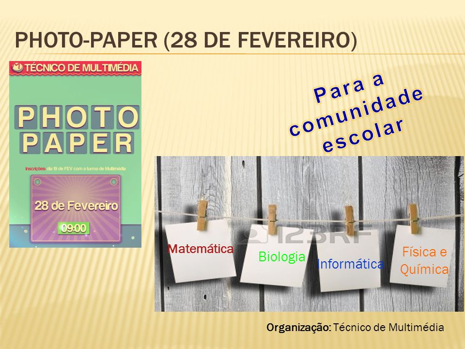 Photo-Paper (28 de fevereiro)