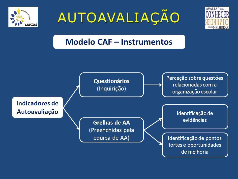 Modelo CAF – Instrumentos