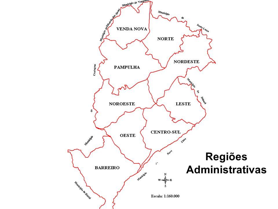 Regiões Administrativas