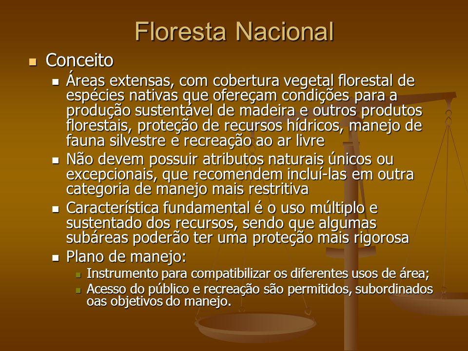 Floresta Nacional Conceito