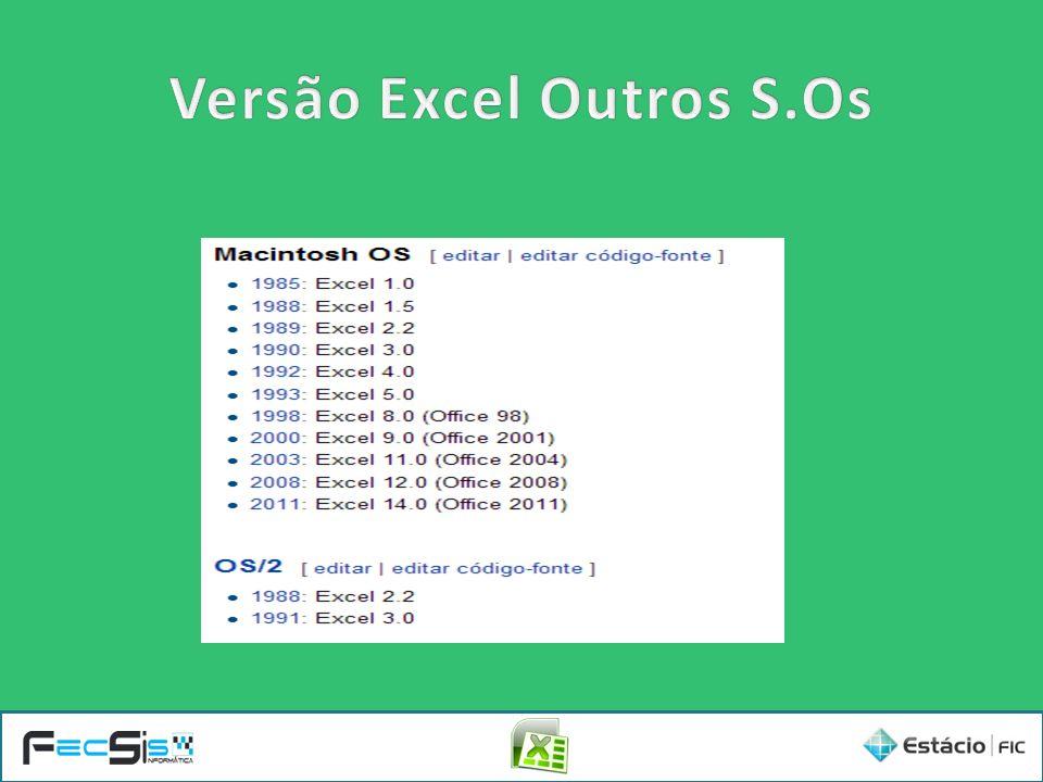 Versão Excel Outros S.Os
