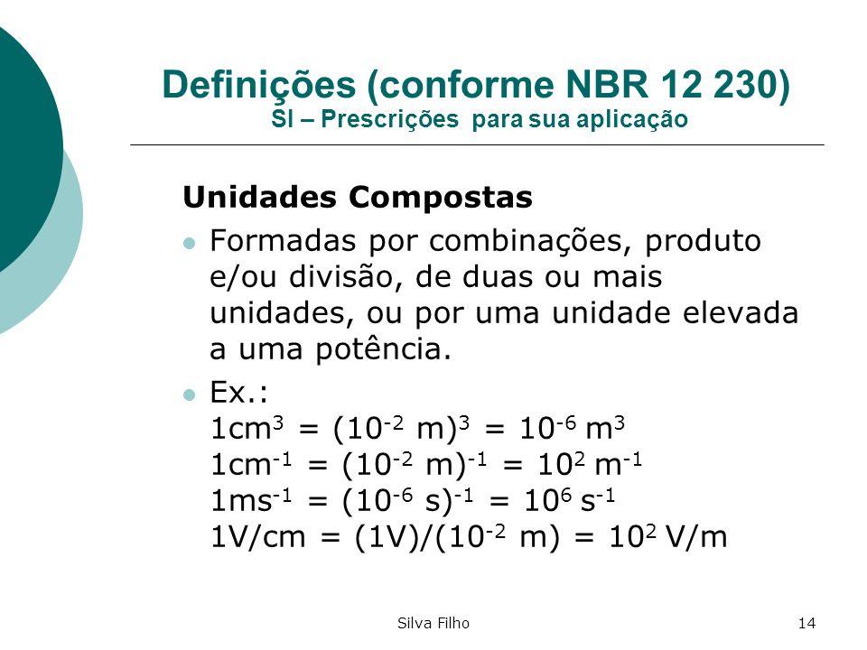 Definições (conforme NBR 12 230) SI – Prescrições para sua aplicação