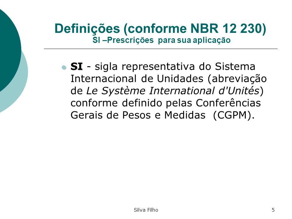 Definições (conforme NBR 12 230) SI –Prescrições para sua aplicação
