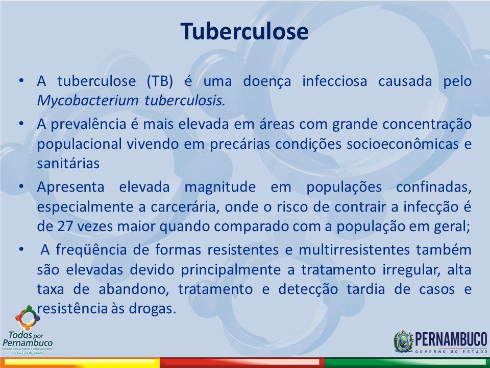 Tuberculose A tuberculose (TB) é uma doença infecciosa causada pelo Mycobacterium tuberculosis.