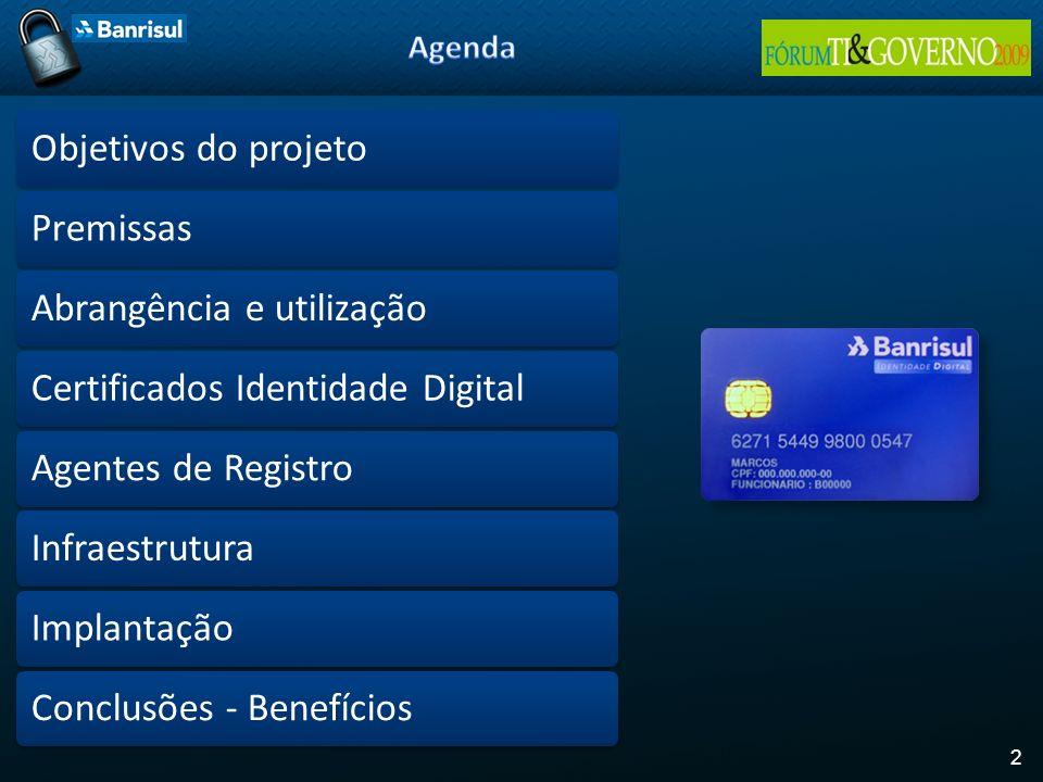 Abrangência e utilização Certificados Identidade Digital