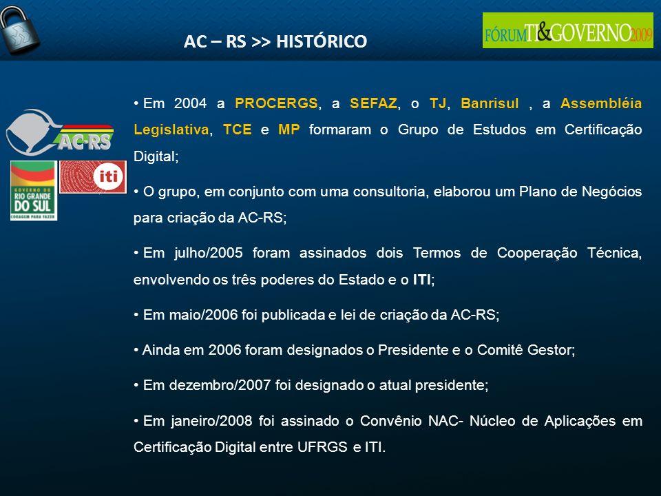 AC – RS >> HISTÓRICO