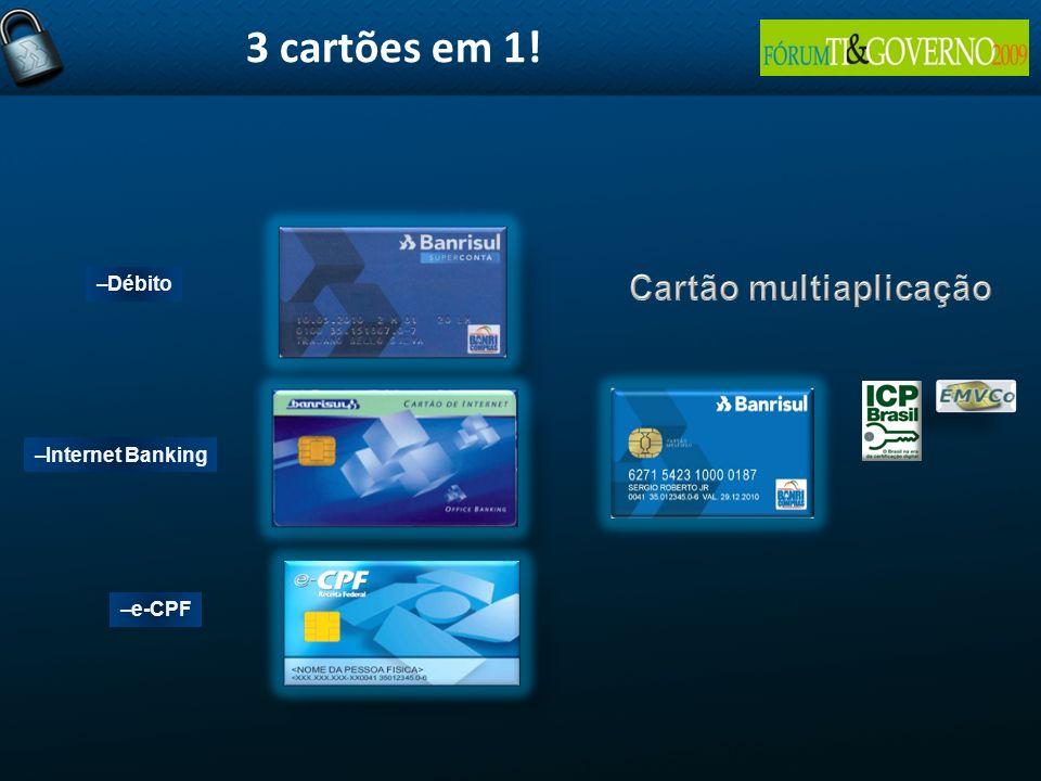 Cartão multiaplicação