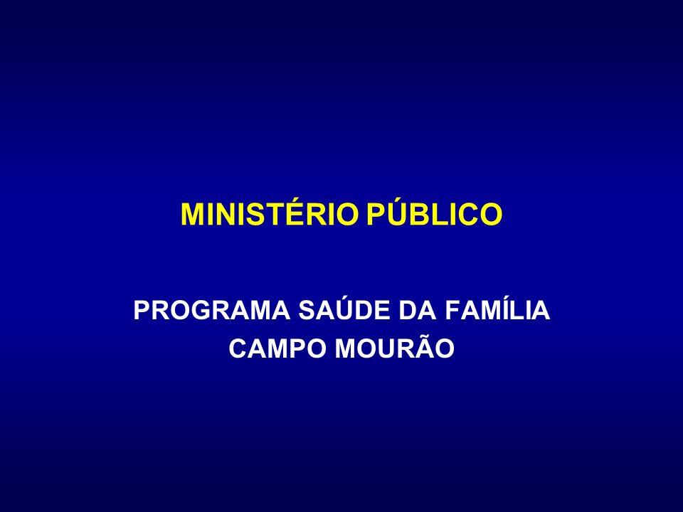 PROGRAMA SAÚDE DA FAMÍLIA CAMPO MOURÃO