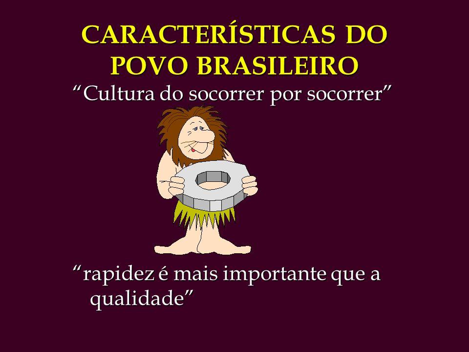 CARACTERÍSTICAS DO POVO BRASILEIRO