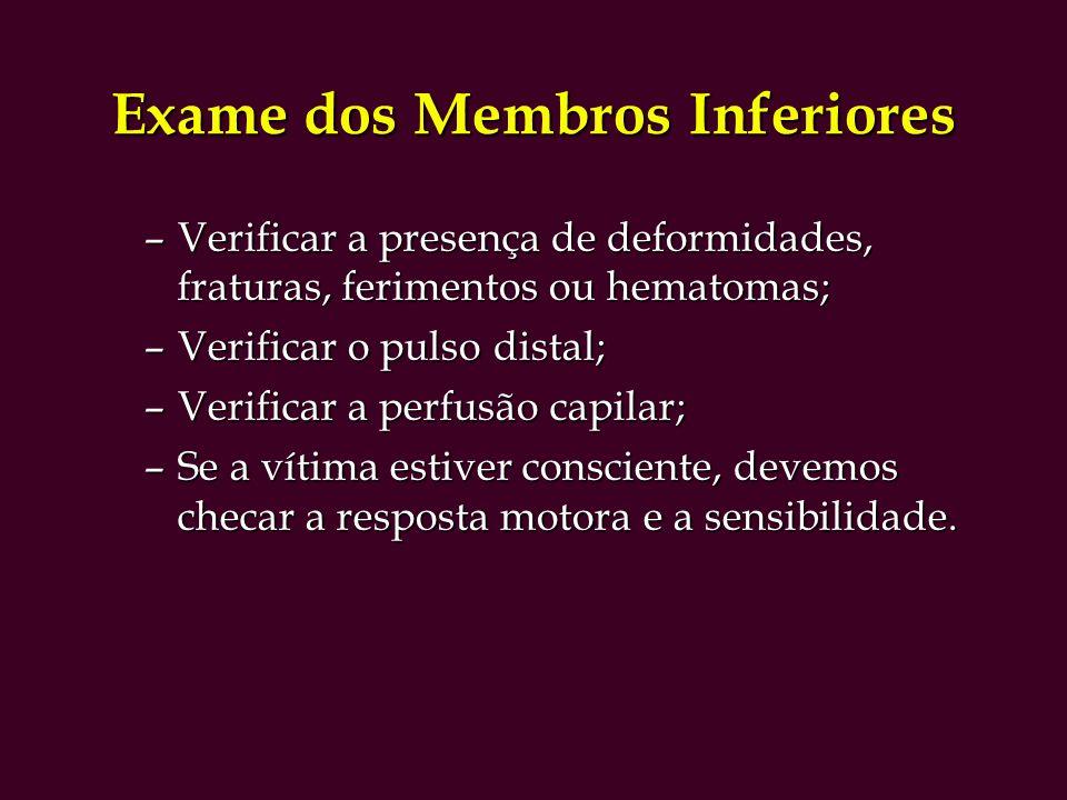 Exame dos Membros Inferiores