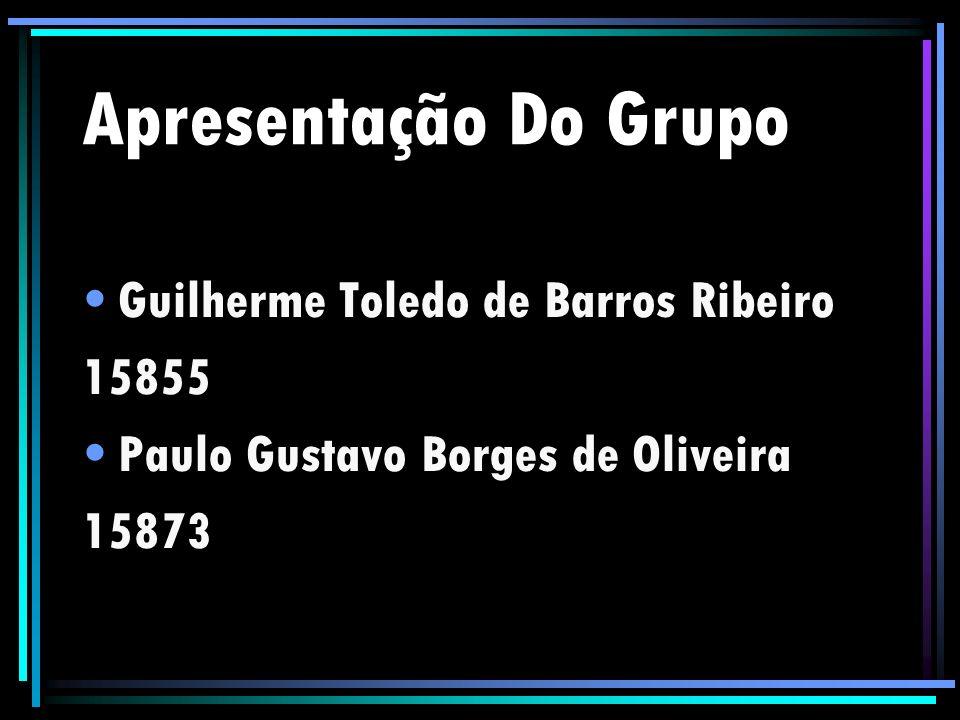 Apresentação Do Grupo Guilherme Toledo de Barros Ribeiro 15855