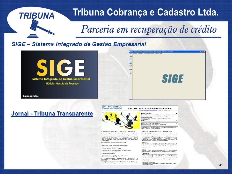 SIGE – Sistema Integrado de Gestão Empresarial