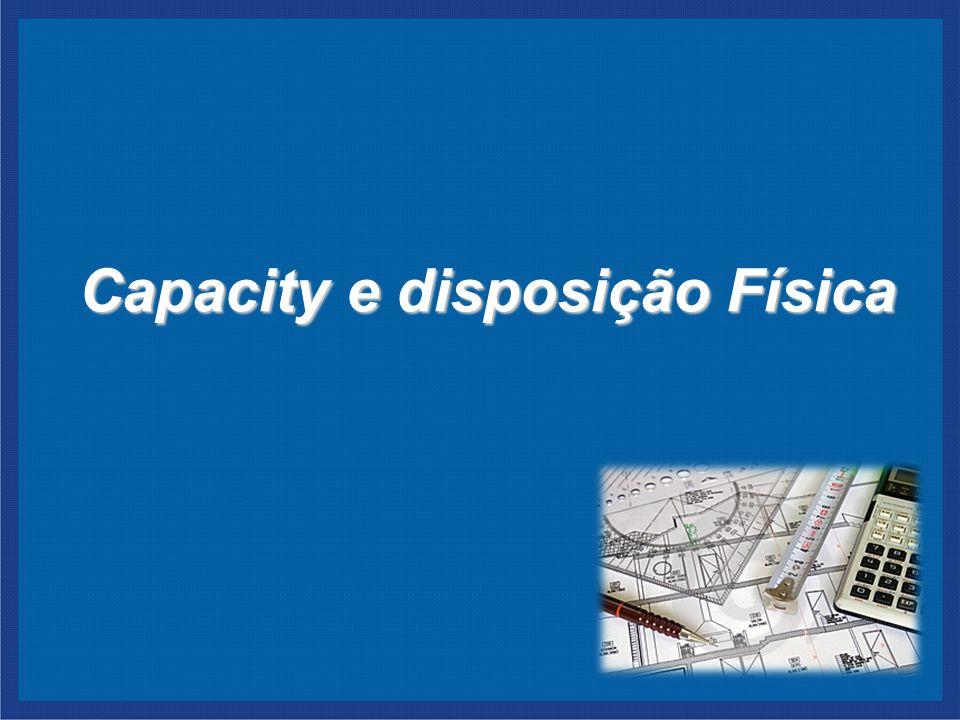 Capacity e disposição Física