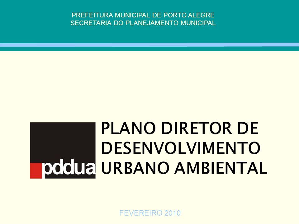 PLANO DIRETOR DE DESENVOLVIMENTO URBANO AMBIENTAL