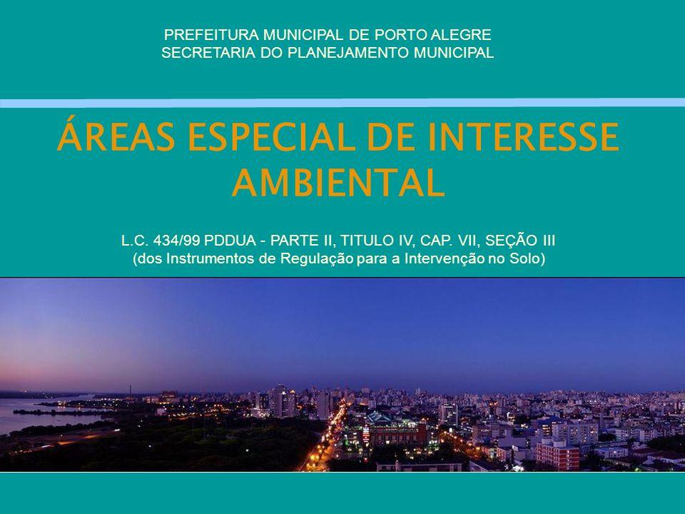 ÁREAS ESPECIAL DE INTERESSE AMBIENTAL