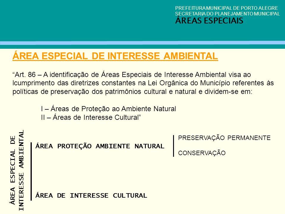 ÁREA ESPECIAL DE INTERESSE AMBIENTAL