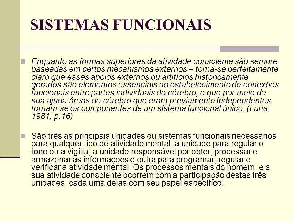 SISTEMAS FUNCIONAIS