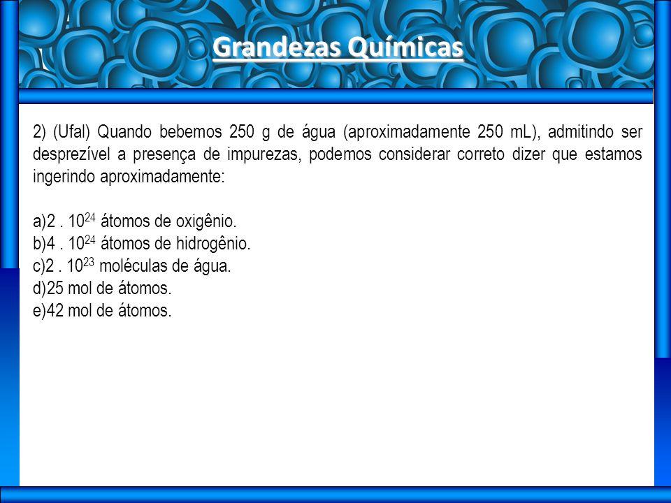 Grandezas Químicas
