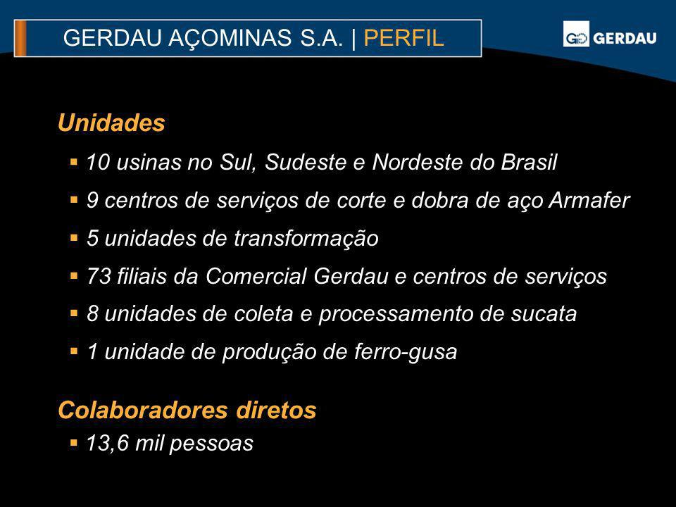 GERDAU AÇOMINAS S.A. | PERFIL