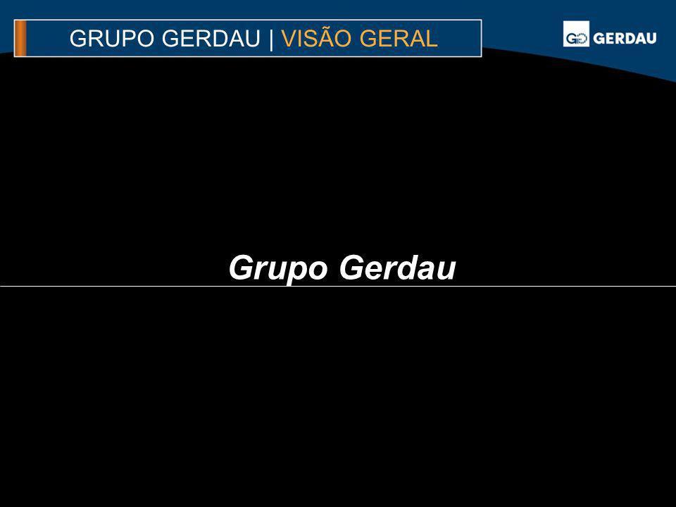 GRUPO GERDAU | VISÃO GERAL