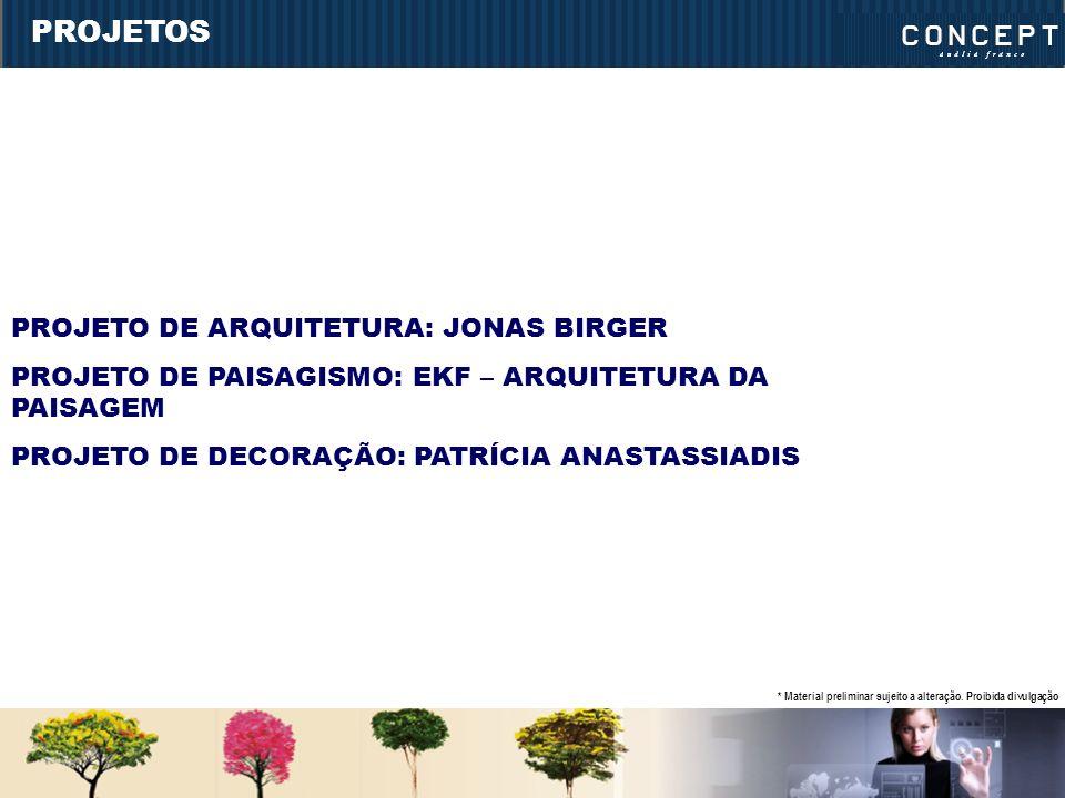 PROJETOS PROJETO DE ARQUITETURA: JONAS BIRGER