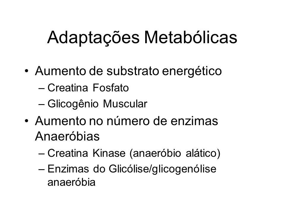 Adaptações Metabólicas