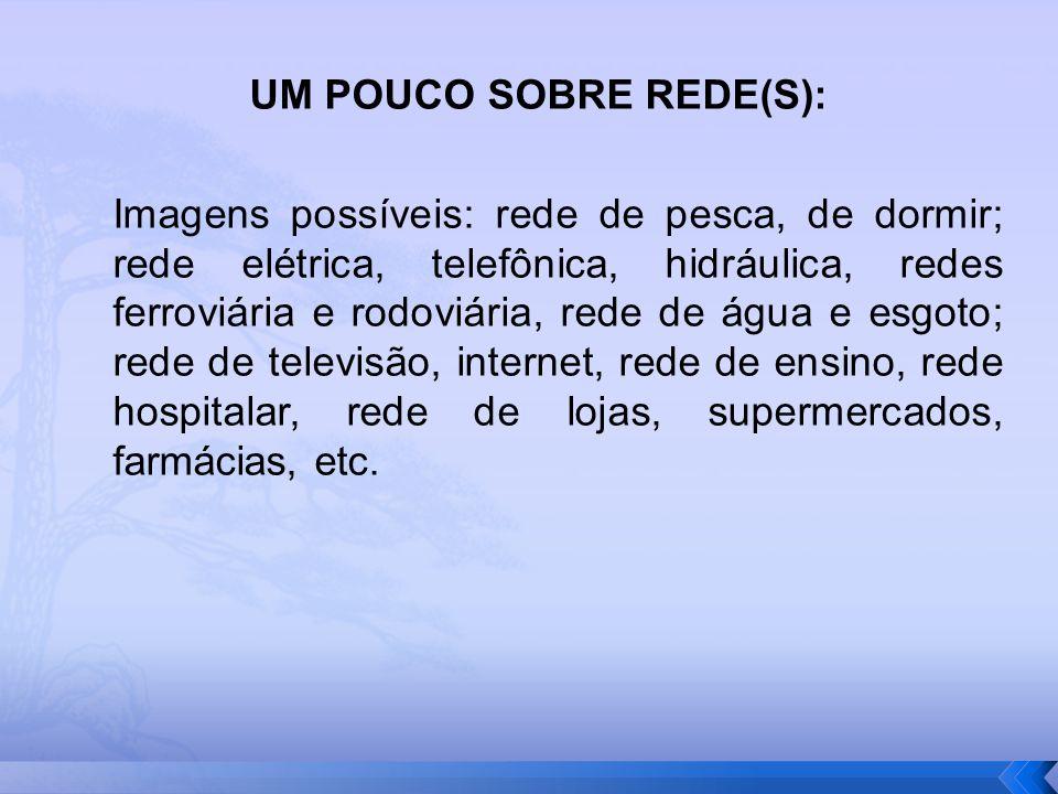 UM POUCO SOBRE REDE(S):