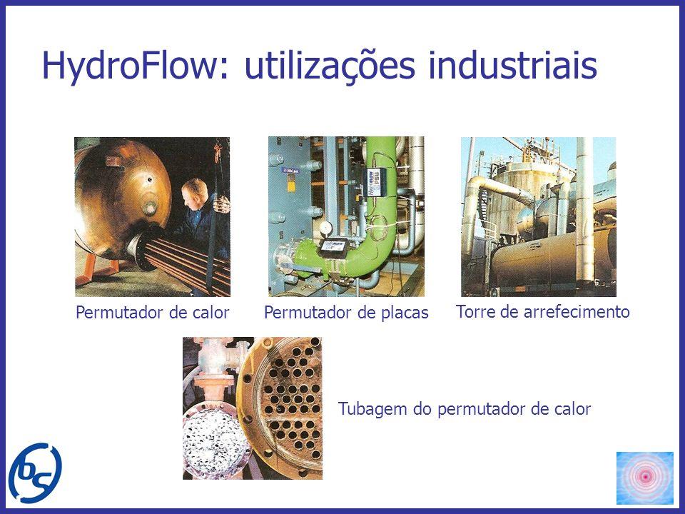 HydroFlow: utilizações industriais