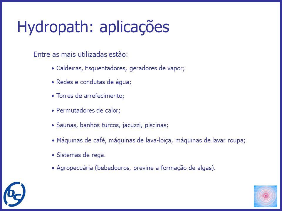 Hydropath: aplicações