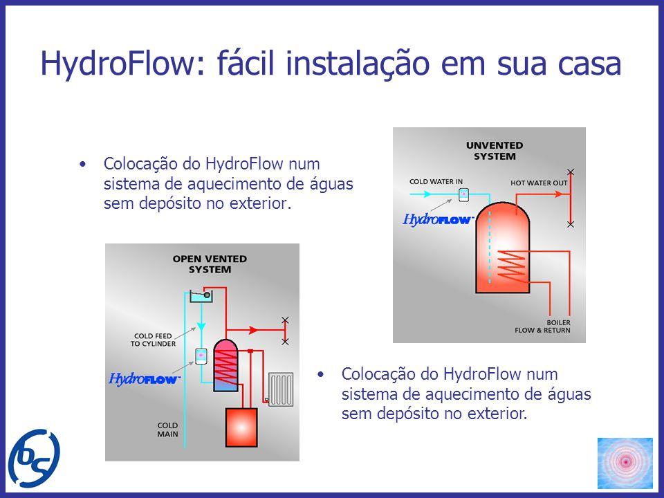 HydroFlow: fácil instalação em sua casa